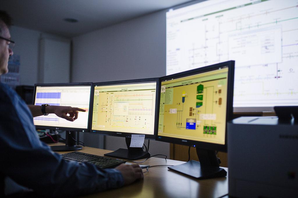 Monitoring at Stadtwerke Borkum