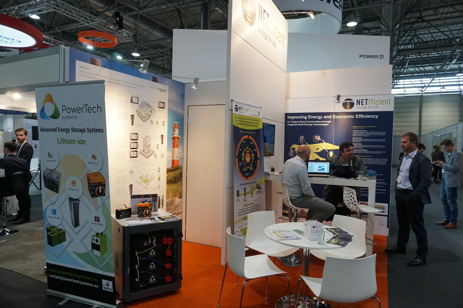 NETfficient Stand at EUW2018