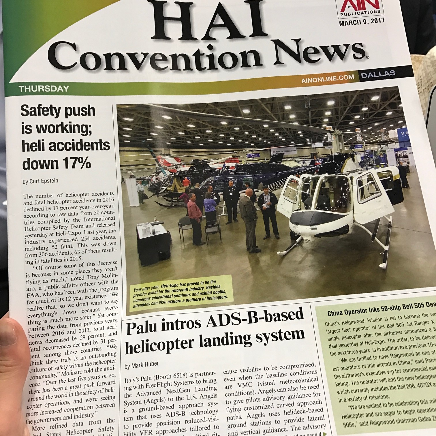 article on Hei Expo official magazine about ANGELS System