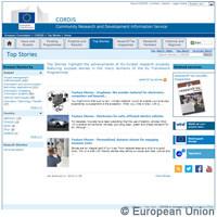 CORDIS launches Top Stories service highlighting EU-funded research results