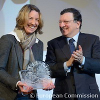 Saskia Biskup awarded top honour at 2014 EU Prize for Women Innovators