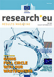 Issue 45 of the research*eu results magazine: Going full circle with our wastewaters