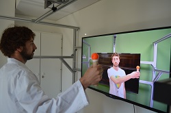 Using avatars and robots to treat social disorders