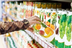 Sustainable fruit juice packaging from organic matter