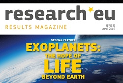 Issue 53 of the research*eu results magazine - Exoplanets: The hope of life beyond Earth