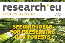 Issue 54 of the research*eu results magazine - Seeding ideas for preserving our forests