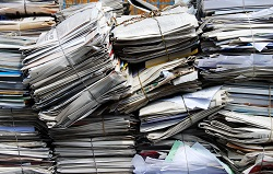 Efficient paper recycling, from first page to last