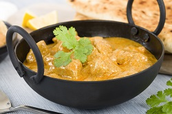 Chicken korma curry helps researchers explore genetic variants in food choices