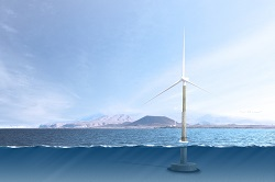 Introducing the self-installing offshore wind turbine
