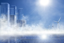 Production to consumption energy efficiency for smart cities