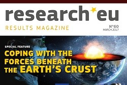 Issue 60 of the research*eu results magazine – Coping with the forces beneath the Earth's crust