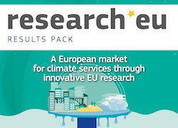 research*eu RESULTS PACK – A European market for climate services through innovative EU research