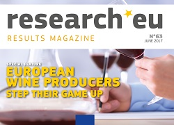 Issue 63 of the research*eu results magazine – European wine producers step up their game