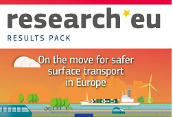research*eu RESULTS PACK – On the move for safer surface transport in Europe