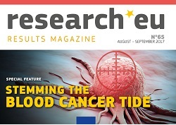 Issue 65 of the research*eu Results Magazine – Stemming the blood cancer tide