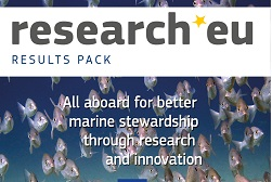 research*eu RESULTS PACK - All aboard for better marine stewardship through research and innovation
