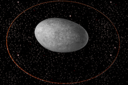 Discovery of a ring around the dwarf planet Haumea