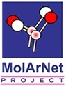 Molecular Architectures for QCA-inspired Boolean Networks