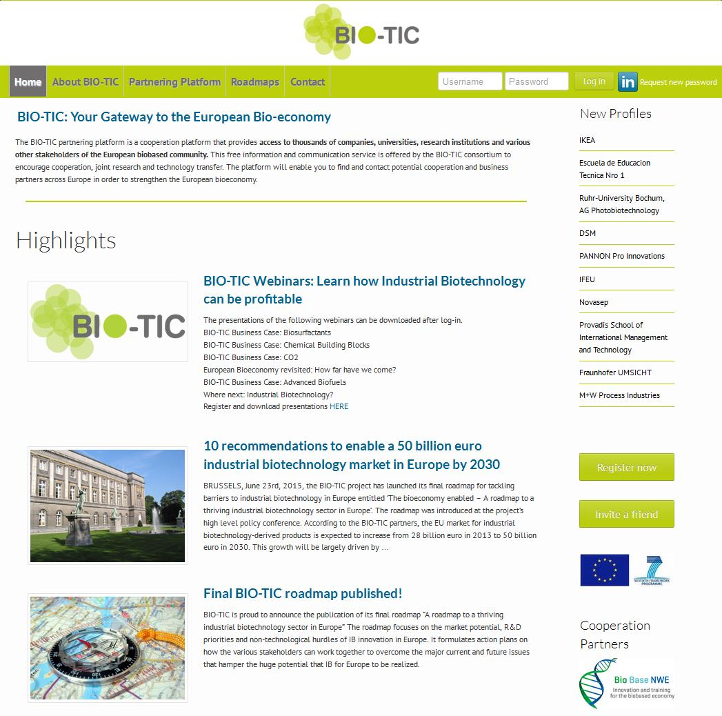 The Industrial Biotech Research and Innovation Platforms Centre