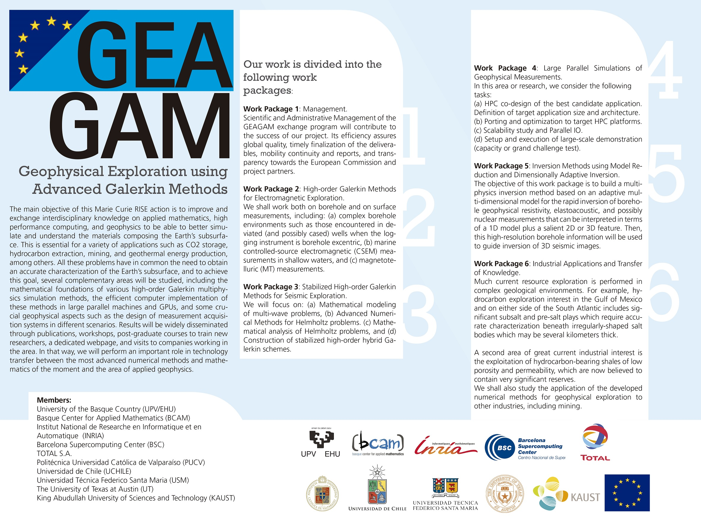 Periodic Reporting for period 2 - GEAGAM (Geophysical