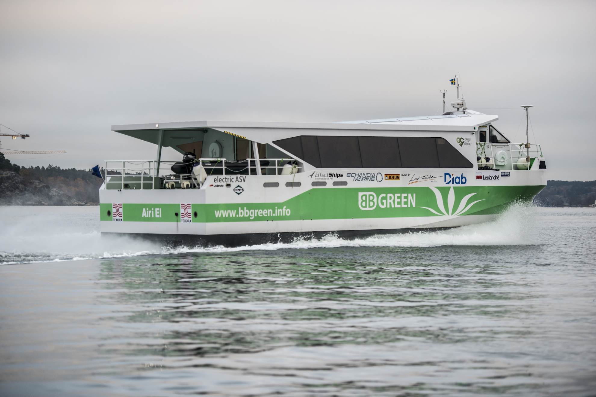 More efficient design makes new generation electric ferries