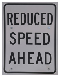 Reducing speed, enhancing safety
