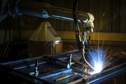 Flexible automated robotic welding