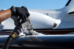 Eliminating fungus in aircraft fuel tanks