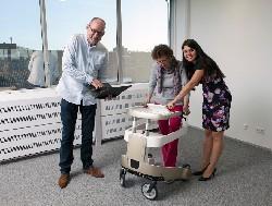Robotic walker equals independent living for Europe's elderly citizens