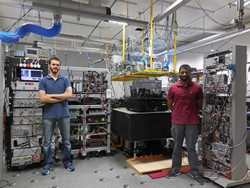 Atomic clocks prepare for the field and for space