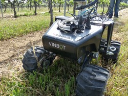 An autonomous robot to predict future yields