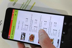 New mobile app for healthier food choices when dining out