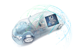 Plastic optical fibre to boost speed and reliability of in-car data transmission