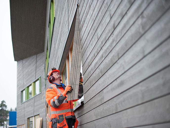 Invertir en edificios de consumo de energía casi nulo de madera ayuda a combatir el cambio climático
