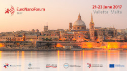 EuroNanoForum 2017: registration and abstract submission open!