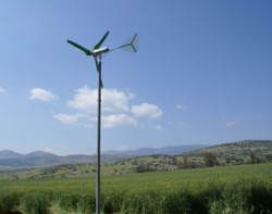 New blades and generators for more efficient small wind turbines