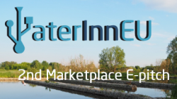 Join the 2nd WaterInnEU Marketplace E-Pitch Event – February 7th 2017 Discover new innovative products and services from the WaterInnEU Marketplace