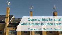 Opportunities for small wind turbines in urban areas