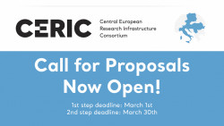 CERIC-ERIC Call for Proposals Now Open!