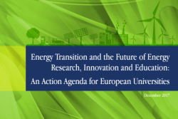 EUA issues Energy Action Agenda for universities and calls on policymakers to take note