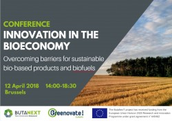 CONFERENCE | Innovation in the bioeconomy: overcoming barriers for sustainable bio-based products and biofuels