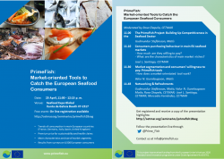 European consumers' profiles and their willingness to pay for seafood products at Seafood Expo Global
