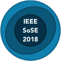 IEEE – 13th System of Systems Engineering Conference - SoSE 2018 Paris, France, June 19-22, 2018