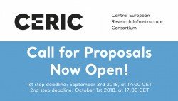 CERIC-ERIC Call for Proposals is now Open