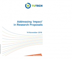 Addressing 'Impact' in Research Proposals on 14th November 2018 in Hamburg