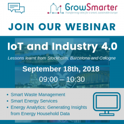 GrowSmarter webinar : IoT and Industry 4.0
