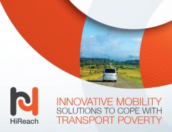 HiReach - Innovative mobility solutions to cope with transport poverty